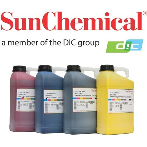 Sun Chemical 219 Solvent Mürekkep 5000ML